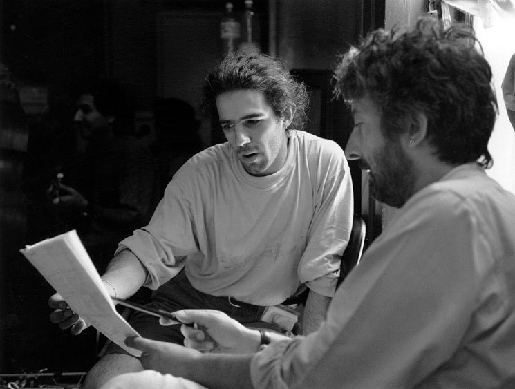 Paolo Fresu Gianfranco Cabiddu Berchidda 1995 foto Nina Contini Melis