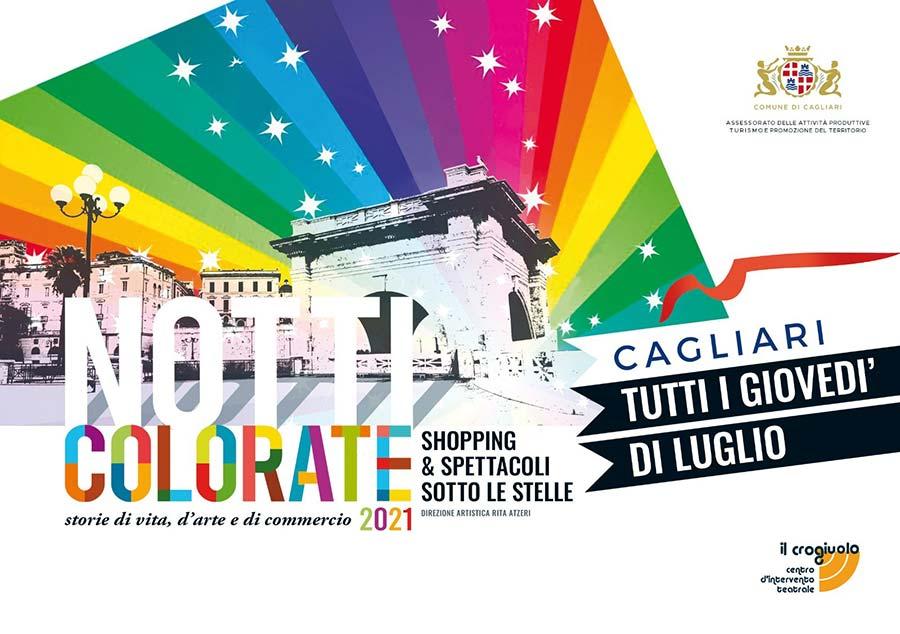 Notti Colorate Cagliari 2021