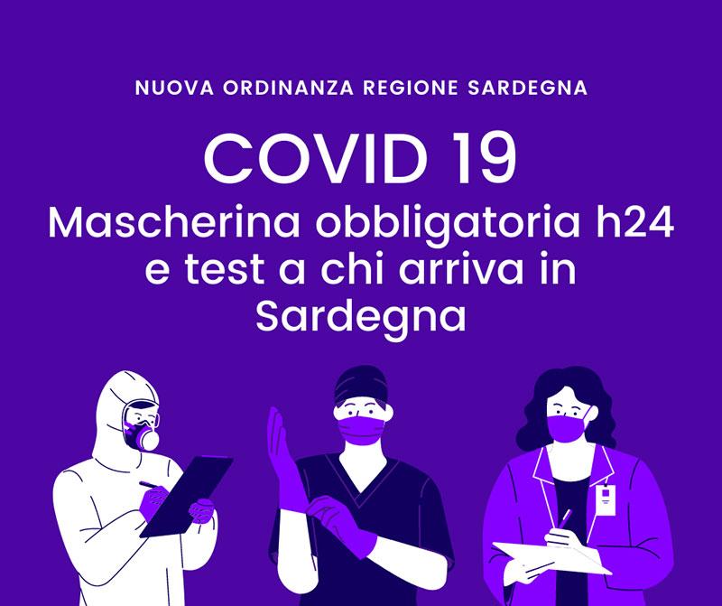 La regione rimborserà i test Covid a chi arriva in Sardegna