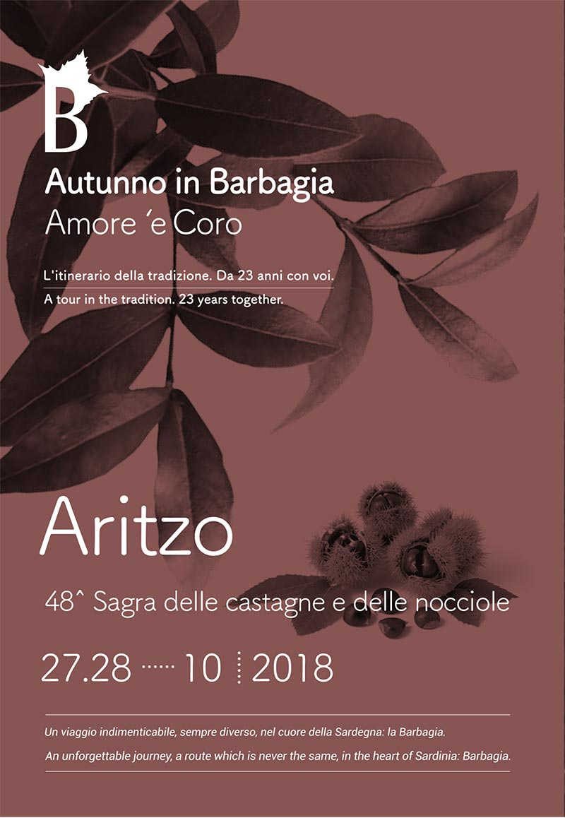 Autunno in Barbagia 2018 ad Aritzo