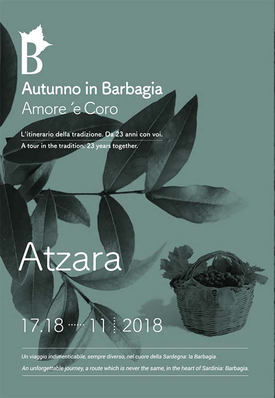 Autunno in Barbagia 2018 ad Atzara