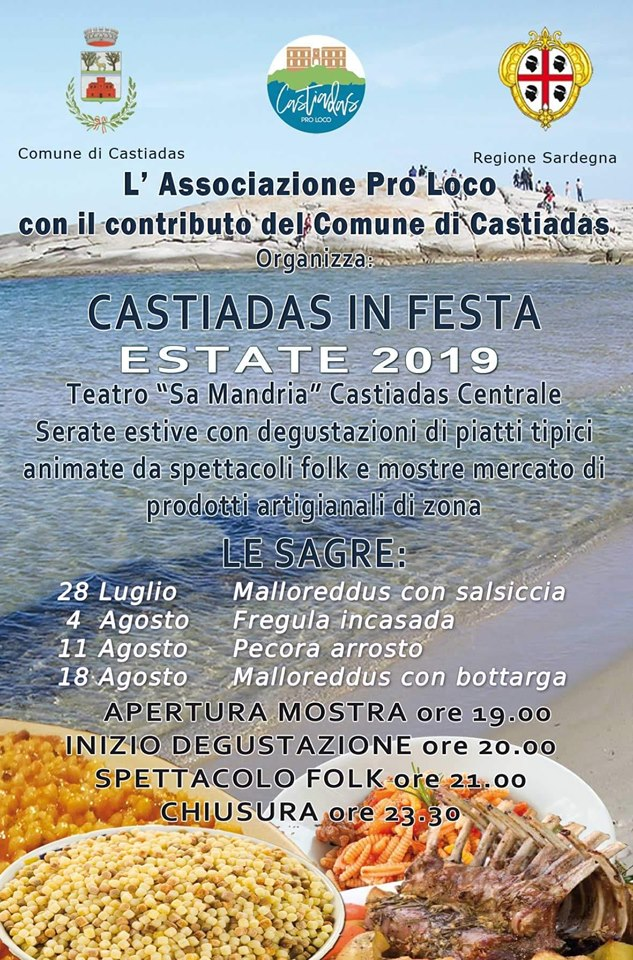 eventi estate castidas 2019