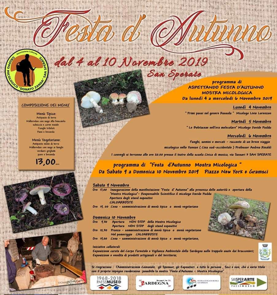 festa autunno san sperate