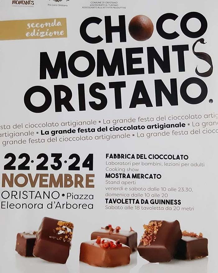 festa cioccolato oristano 2019