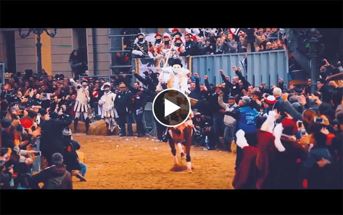 video sartiglia 2019