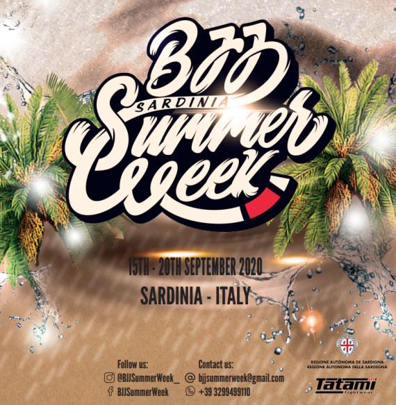BJJ Summer Week Cagliari 2020