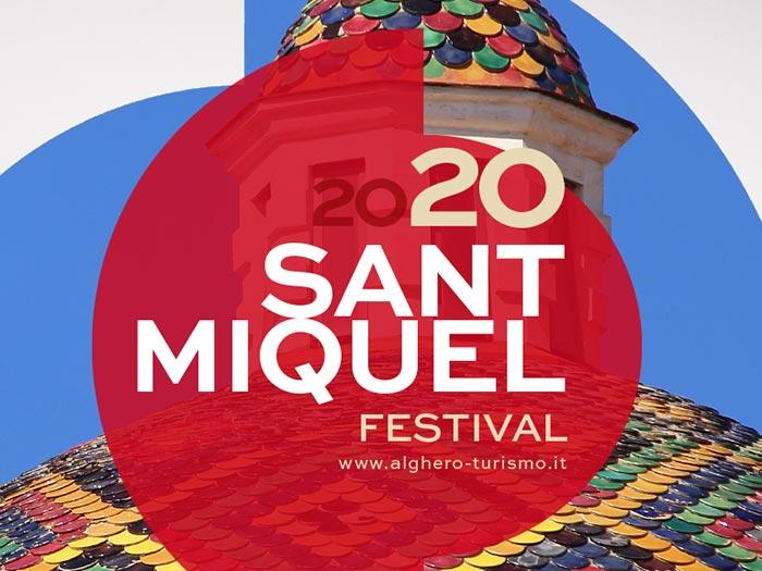 Sant Miquel ad Alghero, in programma dal 18 al 30 settembre 2020