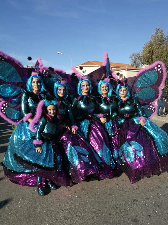 Carnevale 2020 ad Arzachena