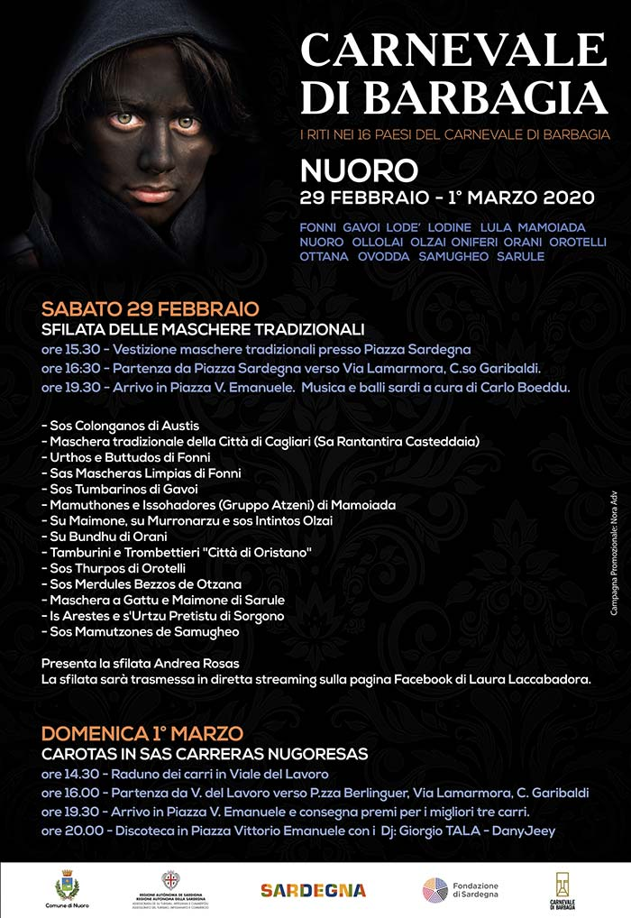 Carnevale 2020 a Nuoro