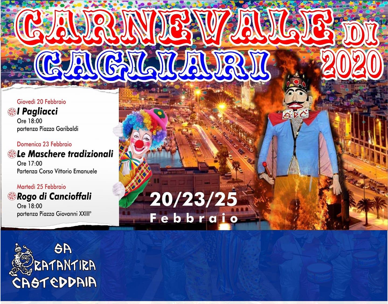 Carnevale 2020 a Cagliari