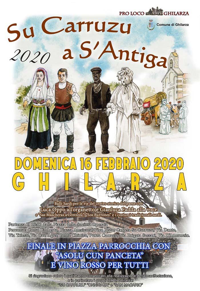 Carnevale 2020 a Ghilarza - Su Carruzu a s'antiga Ghilarza 2020