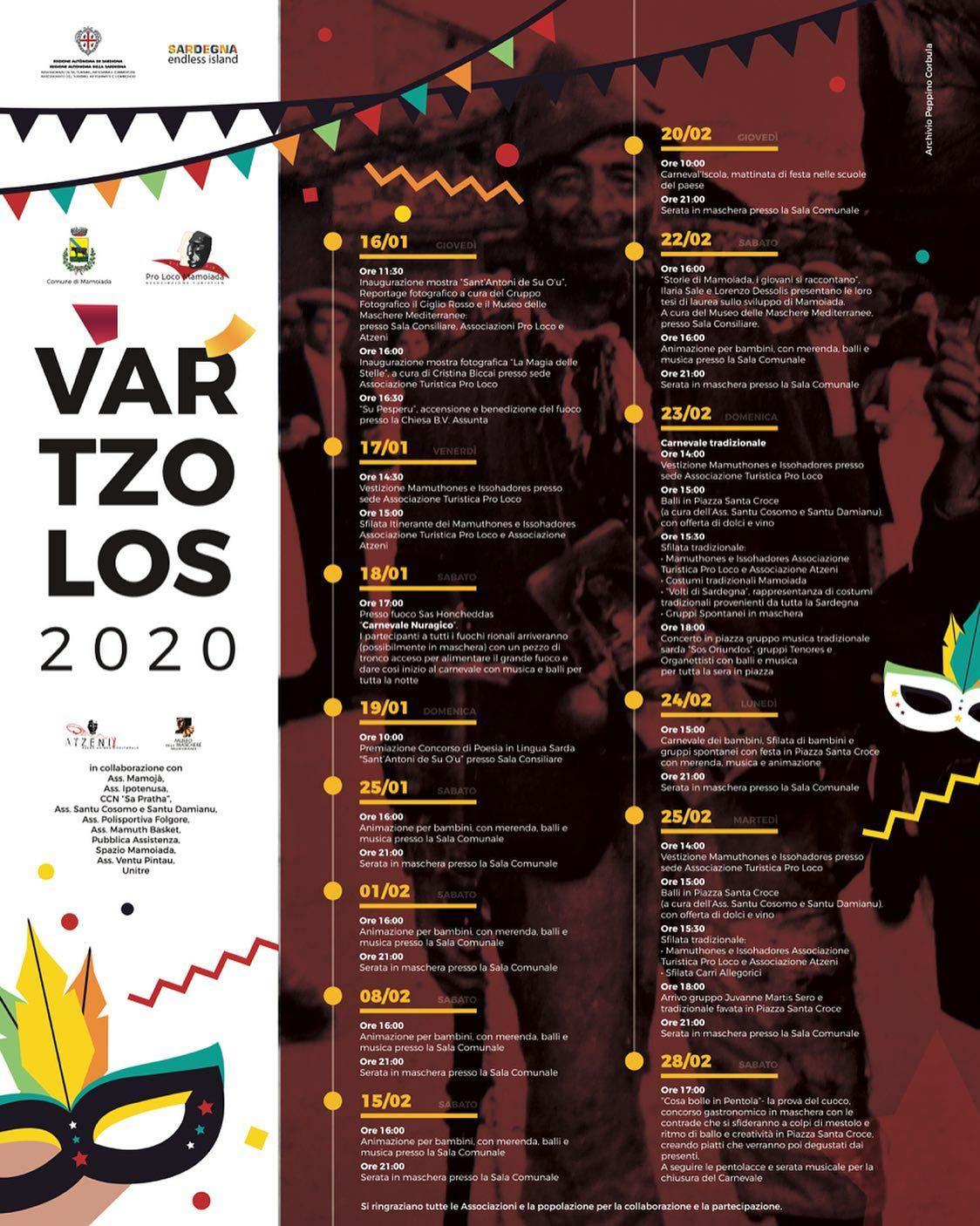Carnevale 2020 a Mamoiada