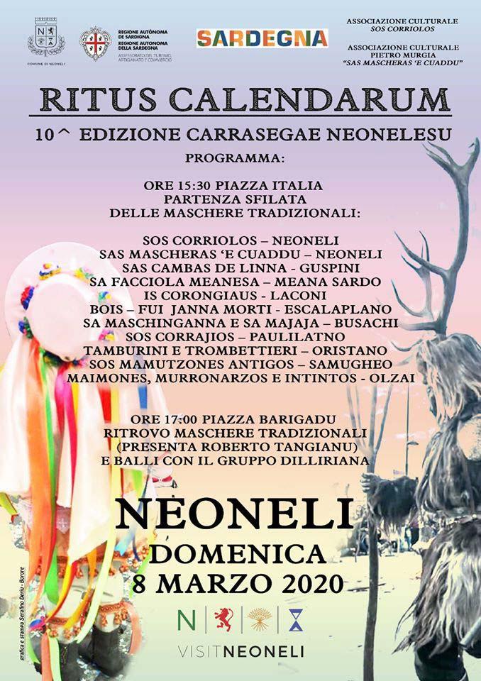 Carnevale 2020 a Neoneli