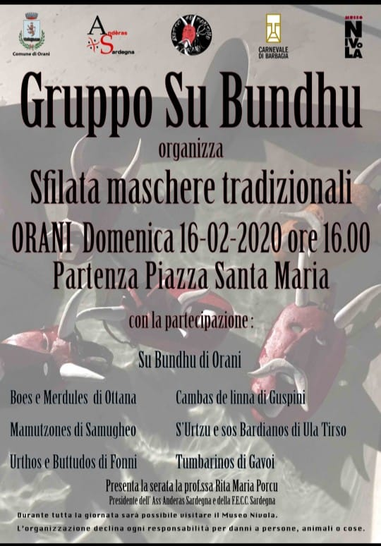 Carnevale 2020 a Orani