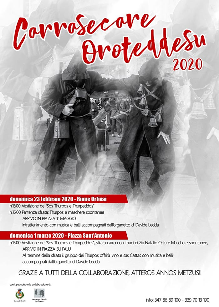 Carnevale 2020 a Samugheo