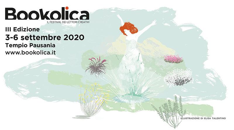 Bookolica. Il festival dei lettori creativi a Tempio Pausania dal 3 al 6 settembre 2020