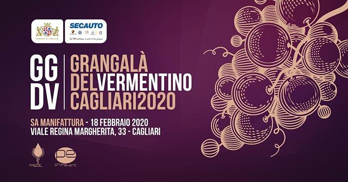 Gran Galà del Vermentino, a Cagliari il 18 febbraio 2020