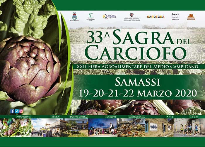 Sagra Carciofo 2020 a Samassi