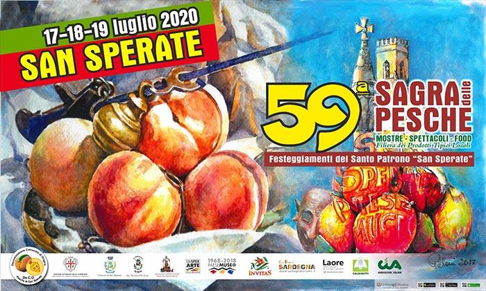 Sagra pesche 2020 San Sperate