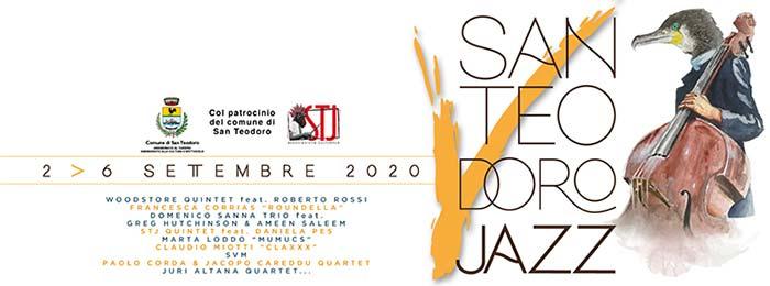 San Teodoro Jazz Festival 2020 dal 4 al 6 settembre