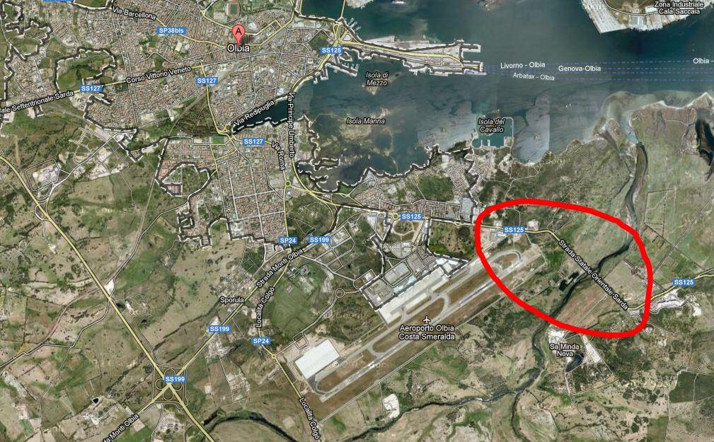 Aeroporto Elba Allungamento Pista : Aeroporto di olbia verso l allungamento della pista