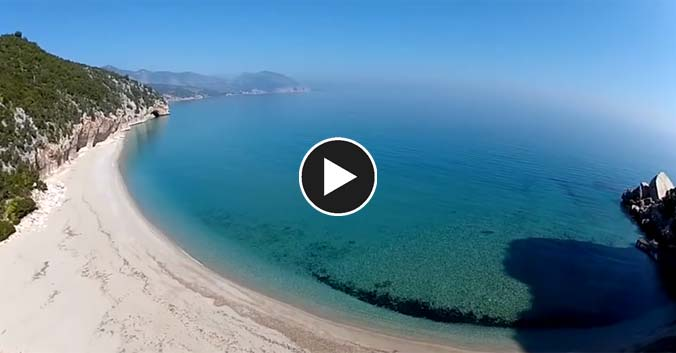 video Sardegna Cala Luna