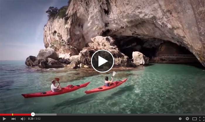 Video Cala Gonone Sardegna