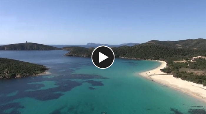 video spiaggia tuerredda